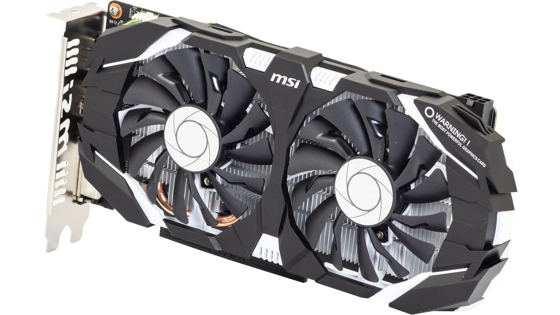 MSI GTX 1060 otvor