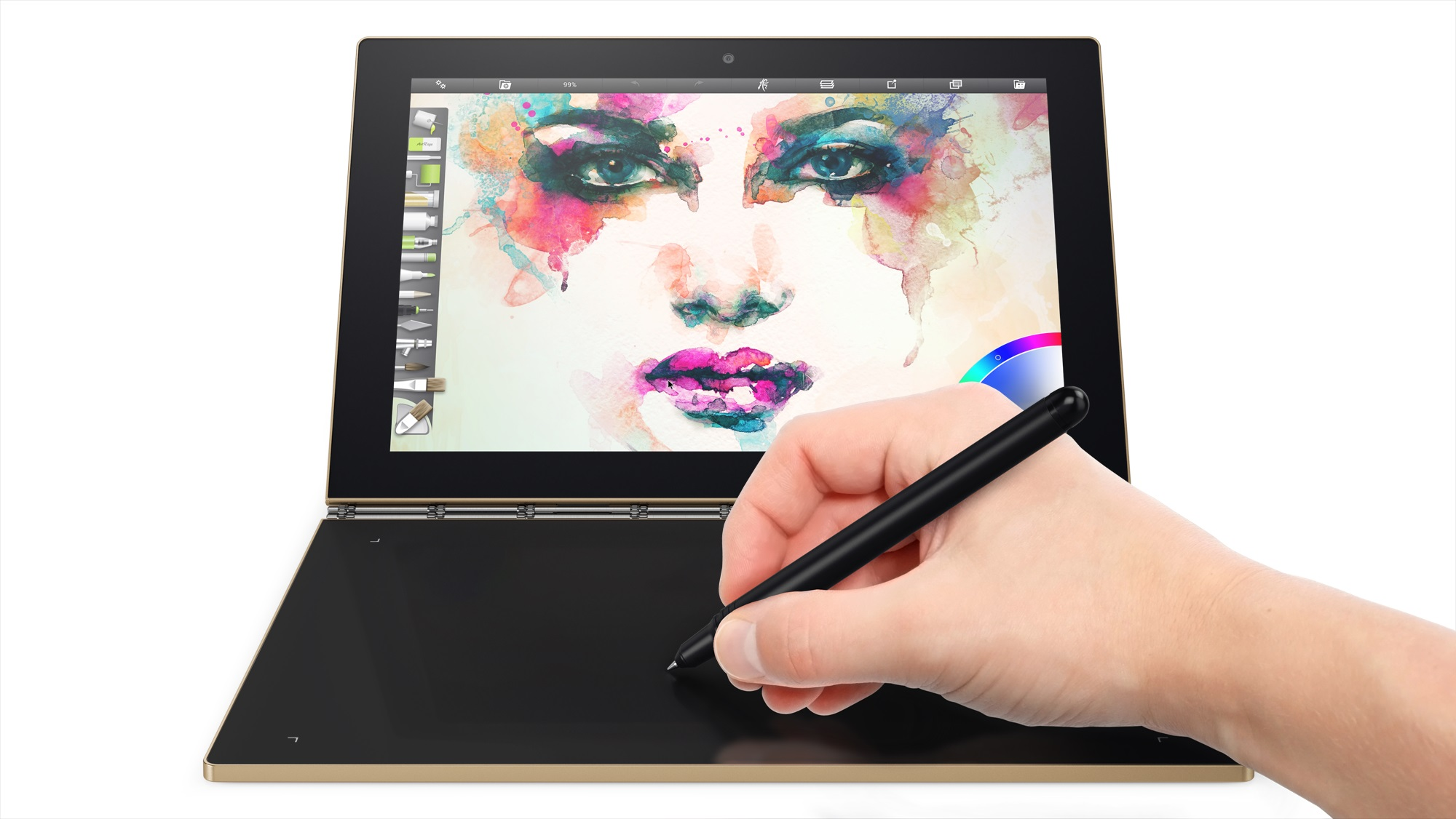 13 Yoga Book Painting Create Mode Landscape