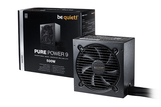 Be quiet pure power 9 500 W