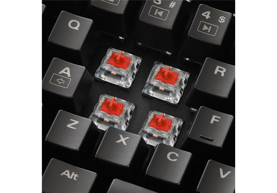 SKILLER SGK1 Switches Red