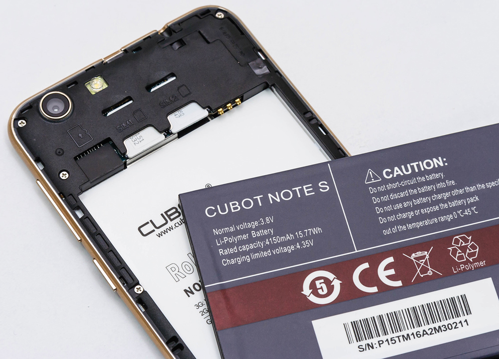 Cubot Note S 8