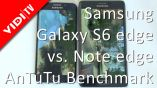 Samsung Galaxy S6 edge vs. Samsung Galaxy Note edge - #AnTuTu benchmark