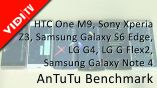HTC One M9, Sony Xperia Z3, Samsung Galaxy S6 Edge, LG G4, LG G Flex2, Samsung Galaxy Note 4