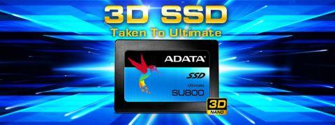 Adata lansirala SU800 SSD sa 3D NAND-om