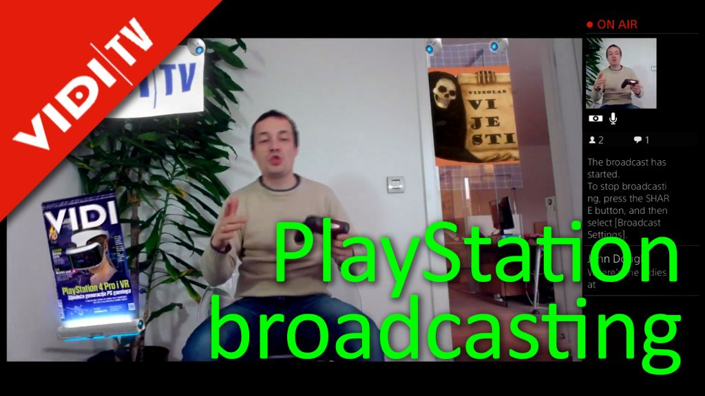 PlayStation broadcasting