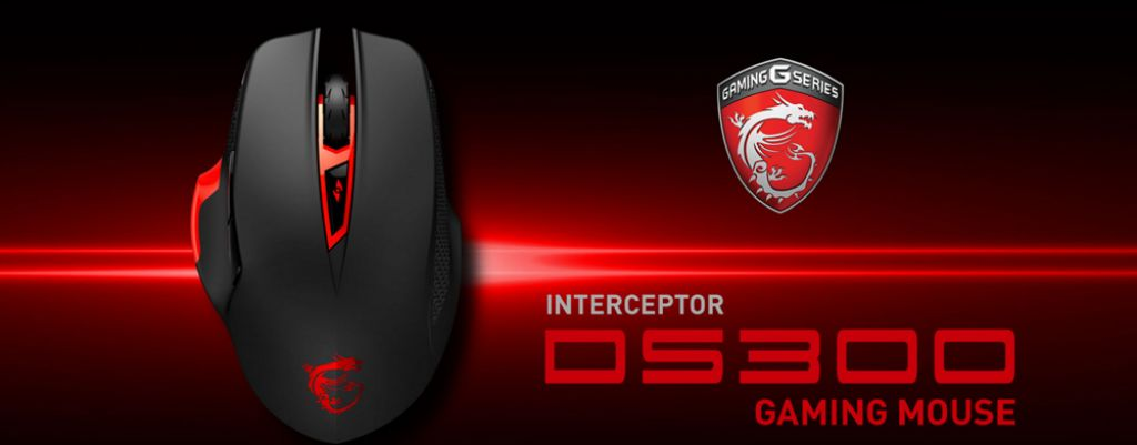 MSI-jev Interceptor DS300 gaming miš dolazi s LED DPI indikatorom