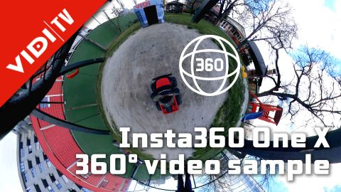 Insta360 One X - sample video