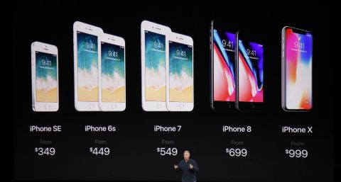 Predstavljeni iPhone X, iPhone 8 i iPhone 8 Plus te se bez home gumba sada oslanjamo na IR kameru