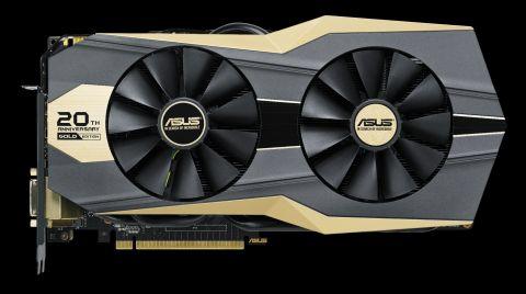 ASUS slavi 20 godina rada sa zlatnom GTX 980 Ti karticom