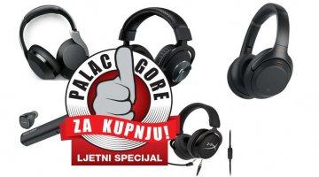 Palac gore za kupnju: Koje slušalice odabrati?