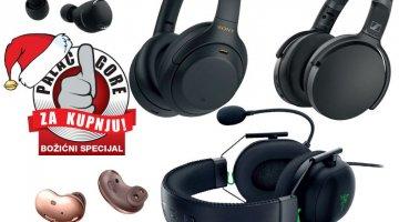Božićni palac gore za kupnju - Pet najboljih slušalica za predblagdansku kupnju
