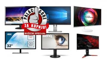 Božićni vodič za kupnju: Koji monitor odabrati