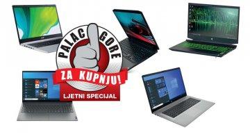 Palac gore za kupnju- Koji back to school laptop odabrati