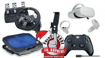 Božićni palac gore za kupnju - Oprema i periferija za gaming i predblagdansku kupnju