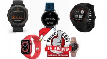 Božićni palac gore za kupnju- Koji pametni sat kupiti
