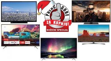 Najbolji televizori za kupnju ovog Božića, do 4500 kuna