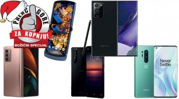Božićni palac gore za kupnju - Koji flagship mobitel kupiti?