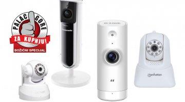 Božićni vodič za kupnju: Koju IP nadzornu kameru odabrati