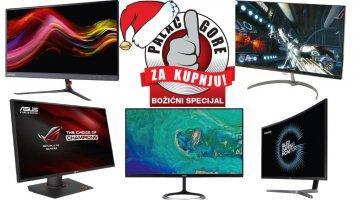Najbolji monitori za božićni poklon