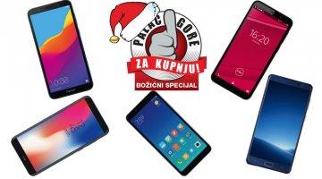 Najbolji budget smartphonei za Božićnu kupnju