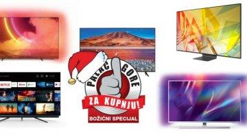 Božićni palac gore za kupnju- Pet najboljih televizora za predblagdansku kupnju