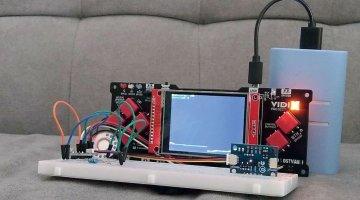 VIDI Project X #66: Alarm s VL53L1X laserskim senzorom udaljenosti