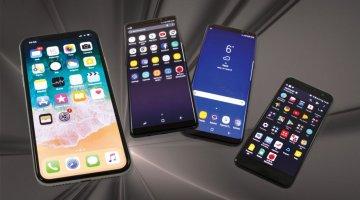 Apple iPhone X vs Samsung Galaxy Note 8 vs Galaxy S8+ vs HTC U11