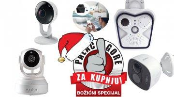Božićni palac gore za kupnju: IP kamere