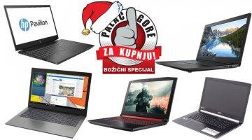 Najbolji laptopi do 6000 kuna ovog Božića